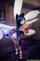 League of Legends - Ahri by Kurai-Hisaki