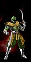 green ranger by rainingcrow