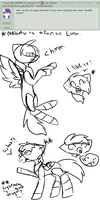 Ask Melody and Lightning #1 by TwistedAnchor