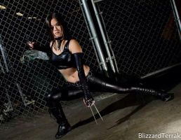 X-23 at Pacific Media Expo 2013 by LoneShadow-Wolf