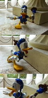 Donald Duck - KH - clay figure by Tesnuzzik