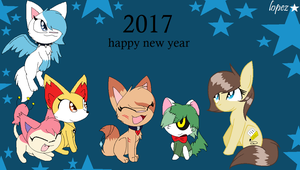 Happy New Year 2017 by lopez765