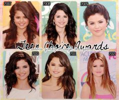 Selena Gomez through the years - TCA's by shadowspassingby