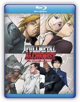 Fullmetal Alchemist Blu Ray by GreedLin