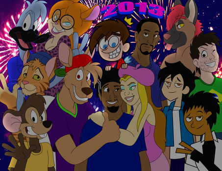 New Years '13: BigTyme N Friends by TheEdMinistrator765