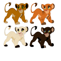 Lion Adopts 1 -- POINTS by Twilight-Commissions