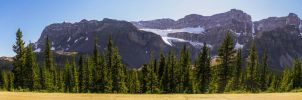 Glacier National Park Pano revisited by KRHPhotography