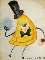 Bill Cipher by vanille913