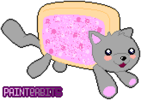 Nyan Cat by PainterBits by PainterBits