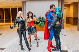 DC Character Cosplay Goof Off by PhoenixForce85