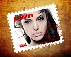 angelina in stamp by atos2063