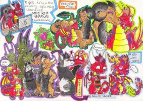 Fasuhn and the ladies by Thornacious