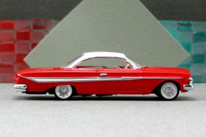 1961 Chevrolet Impala - red sr cotd - Revell by Deanomite17703cotd