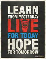 learn , live , hope by Kareem-karam