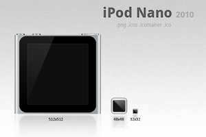 iPod Nano 6G 2010 icon by macftw