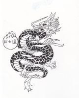 Bushido- Japanese Dragon Tatto by shiintoryuu