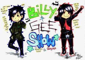 MCR + GD:: Billie and Gee by Beny-Girl