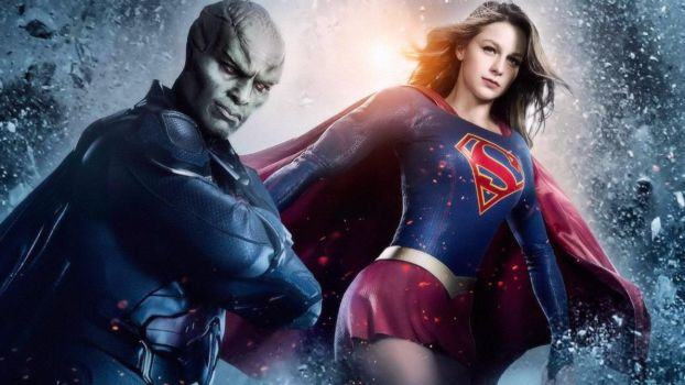 Supergirl And Manhunter  Low Res Version by watchall