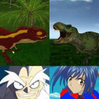 Dinosaur king EP 8: T-Rex battle, Timmy vs Terry  by ltdtaylor1970