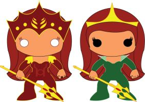 Mera - POP Heroes Style by POPPED-UP
