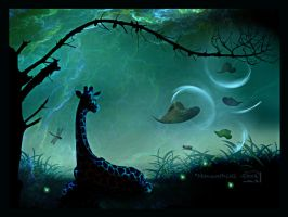 How the World Should Be by Manwathiell-Stock