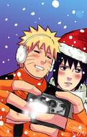 Selfie with Sasuke by Cassy-F-E