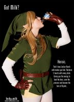 Lady Link - Got Milk? by Samii-Doll