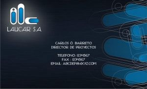 Laucar - Business Card by melito