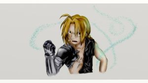Edward Elric (Color) by TheRedAuthor