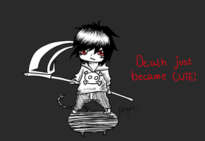 Death Just Became Cute by abcgie