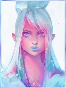 Celeste Nima by rossdraws