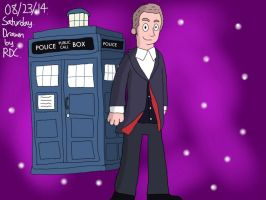 The 12th Doctor by Fester1124