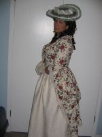 1770's Polonaise Gown by Brznwench