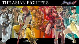 SCV Asian Fighters Wallpaper by TGrrr89