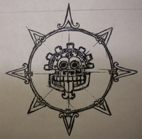Mayan-inspired Sun by CaptScott