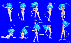 Felicia Poses Pack by NekoHybrid