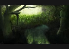 Jungle Reflection by casio222