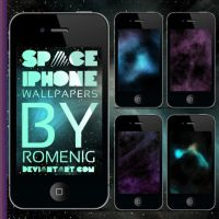 4 Space Iphone Wallpapers by Romenig