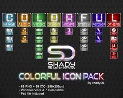 Colorful Icon Pack by shady06