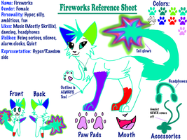 Fireworks Reference Sheet by LightStudioz