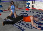 Mixed Wrestling 34 by cattle6