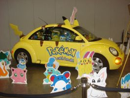 AWA 2010: Pokemon Car by Gemkio