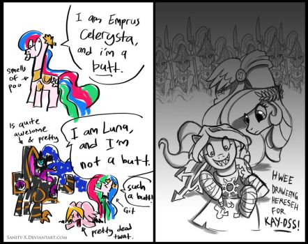 April Fools in the Palace by Sanity-X