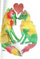 Wolf love by CanineCriminal