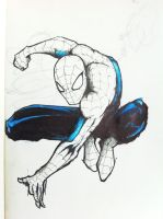 Spiderman by InkTheory-Design