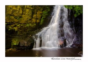 Hareshaw Linn Waterfall by newcastlemale