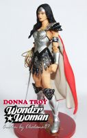 Donna Troy as Wonder Woman redesign custom by Chalana87
