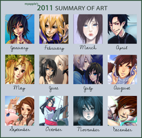 2011 Summary of Art by caydett