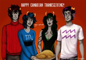 Have Homestuck Pre-Scratch Turkey by TheLanguidClown