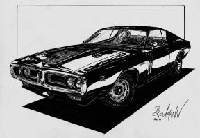 1971 Dodge Charger RT by Berlioz-II
